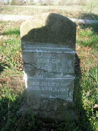WALLIS, DRUDE - Boone County, Arkansas   DRUDE WALLIS - Arkansas Gravestone Photos