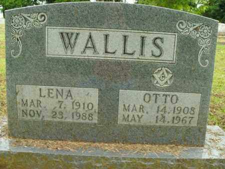 WALLIS, LENA MARY - Boone County, Arkansas | LENA MARY WALLIS - Arkansas Gravestone Photos