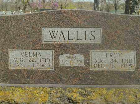 WALLIS, VELMA MAE - Boone County, Arkansas | VELMA MAE WALLIS - Arkansas Gravestone Photos