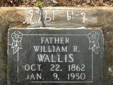 WALLIS, WILLIAM R. - Boone County, Arkansas | WILLIAM R. WALLIS - Arkansas Gravestone Photos