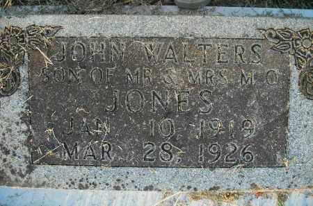 JONES, JOHN WALTERS - Boone County, Arkansas | JOHN WALTERS JONES - Arkansas Gravestone Photos