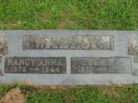 WALTON, HOMER G. - Boone County, Arkansas | HOMER G. WALTON - Arkansas Gravestone Photos