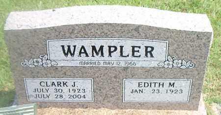 WAMPLER, CLARK J. - Boone County, Arkansas   CLARK J. WAMPLER - Arkansas Gravestone Photos