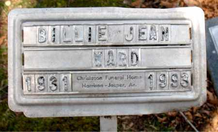 WARD, BILLIE JEAN - Boone County, Arkansas | BILLIE JEAN WARD - Arkansas Gravestone Photos