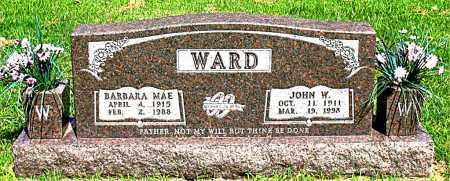 WARD, JOHN W - Boone County, Arkansas | JOHN W WARD - Arkansas Gravestone Photos