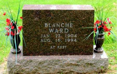 WARD, BLANCHE - Boone County, Arkansas   BLANCHE WARD - Arkansas Gravestone Photos