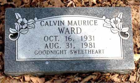 WARD, CALVIN MAURICE - Boone County, Arkansas | CALVIN MAURICE WARD - Arkansas Gravestone Photos