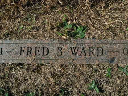 WARD, FRED B. - Boone County, Arkansas | FRED B. WARD - Arkansas Gravestone Photos