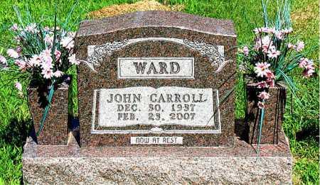 WARD, JOHN CARROLL - Boone County, Arkansas | JOHN CARROLL WARD - Arkansas Gravestone Photos