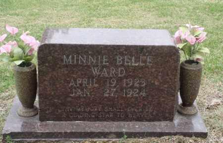 WARD, MINNIE BELLE - Boone County, Arkansas   MINNIE BELLE WARD - Arkansas Gravestone Photos