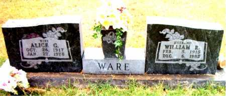 WARE, ALICE G - Boone County, Arkansas | ALICE G WARE - Arkansas Gravestone Photos