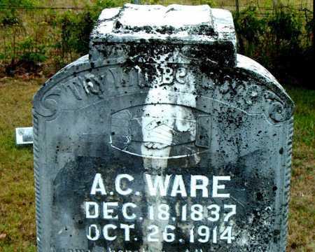 WARE  (VETERAN UNION), ALEXANDER CLINTON - Boone County, Arkansas   ALEXANDER CLINTON WARE  (VETERAN UNION) - Arkansas Gravestone Photos