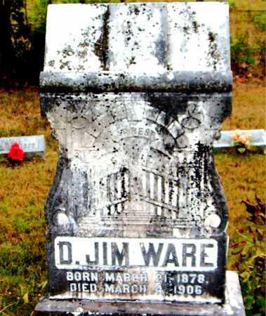 WARE, DEE JIM - Boone County, Arkansas | DEE JIM WARE - Arkansas Gravestone Photos