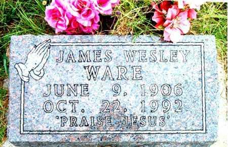 WARE, JAMES WESLEY - Boone County, Arkansas | JAMES WESLEY WARE - Arkansas Gravestone Photos
