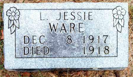 WARE, L. JESSIE - Boone County, Arkansas   L. JESSIE WARE - Arkansas Gravestone Photos