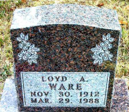 WARE, LOYD - Boone County, Arkansas   LOYD WARE - Arkansas Gravestone Photos
