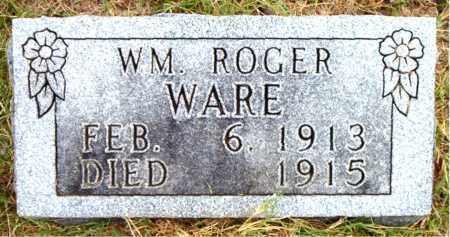 WARE, WM ROGER - Boone County, Arkansas   WM ROGER WARE - Arkansas Gravestone Photos