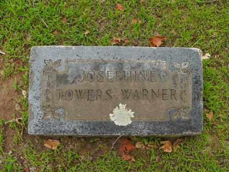 TOWERS WARNER, JOSEPHINE - Boone County, Arkansas | JOSEPHINE TOWERS WARNER - Arkansas Gravestone Photos
