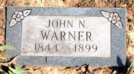 WARNER, JOHN  N. - Boone County, Arkansas   JOHN  N. WARNER - Arkansas Gravestone Photos