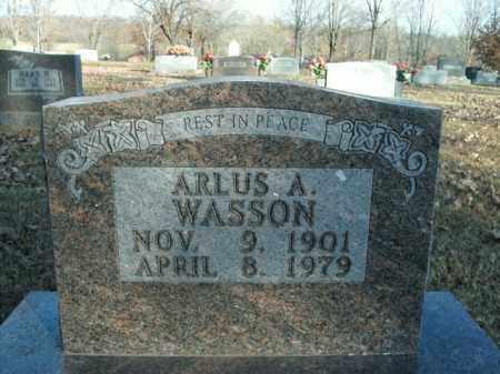 WASSON, ARLUS A. - Boone County, Arkansas   ARLUS A. WASSON - Arkansas Gravestone Photos