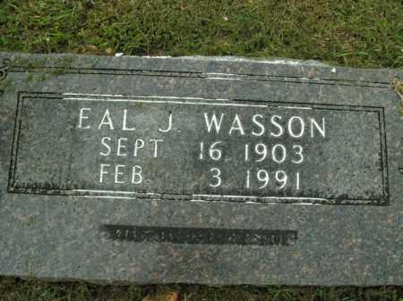 WASSON, EAL JACK - Boone County, Arkansas | EAL JACK WASSON - Arkansas Gravestone Photos