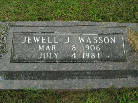 WASSON, JEWELL J. - Boone County, Arkansas | JEWELL J. WASSON - Arkansas Gravestone Photos