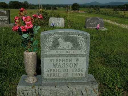 WASSON, STEPHEN W. - Boone County, Arkansas | STEPHEN W. WASSON - Arkansas Gravestone Photos