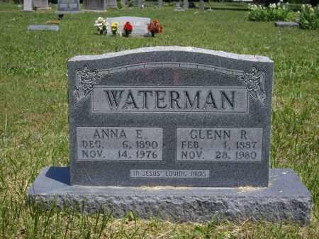 WATERMAN, ANNA E. - Boone County, Arkansas | ANNA E. WATERMAN - Arkansas Gravestone Photos
