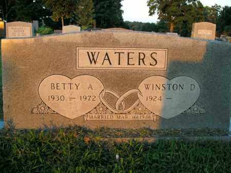 WATERS, BETTY A. - Boone County, Arkansas   BETTY A. WATERS - Arkansas Gravestone Photos