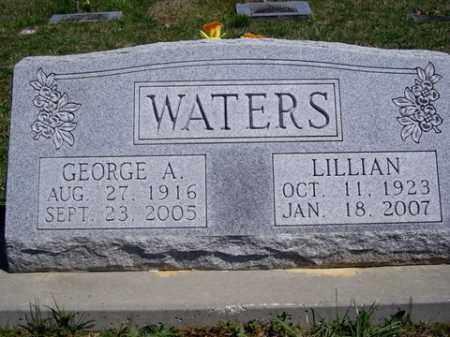 WATERS, LILLIAN - Boone County, Arkansas | LILLIAN WATERS - Arkansas Gravestone Photos