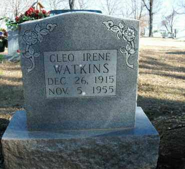 WATKINS, CLEO IRENE - Boone County, Arkansas | CLEO IRENE WATKINS - Arkansas Gravestone Photos