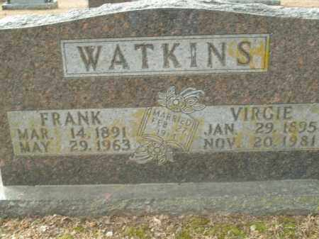 WATKINS, VIRGIE - Boone County, Arkansas | VIRGIE WATKINS - Arkansas Gravestone Photos