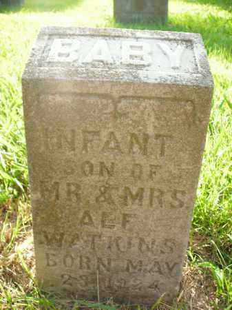 WATKINS, INFANT SON - Boone County, Arkansas | INFANT SON WATKINS - Arkansas Gravestone Photos