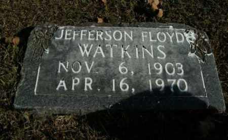 WATKINS, JEFFERSON FLOYD - Boone County, Arkansas | JEFFERSON FLOYD WATKINS - Arkansas Gravestone Photos