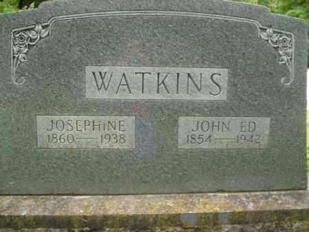 WATKINS, JOHN ED - Boone County, Arkansas   JOHN ED WATKINS - Arkansas Gravestone Photos
