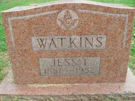 WATKINS, JESS FRANKLIN - Boone County, Arkansas | JESS FRANKLIN WATKINS - Arkansas Gravestone Photos