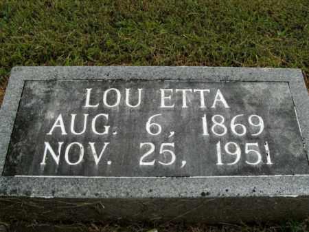 WATKINS, LOU ETTA - Boone County, Arkansas | LOU ETTA WATKINS - Arkansas Gravestone Photos
