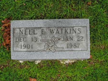 WATKINS, NELL E. - Boone County, Arkansas | NELL E. WATKINS - Arkansas Gravestone Photos