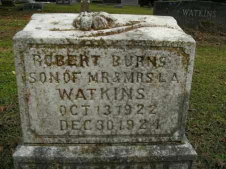 WATKINS, ROBERT BURNS - Boone County, Arkansas   ROBERT BURNS WATKINS - Arkansas Gravestone Photos