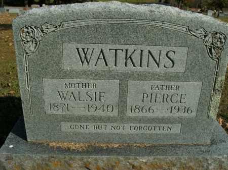 WATKINS, PIERCE - Boone County, Arkansas | PIERCE WATKINS - Arkansas Gravestone Photos