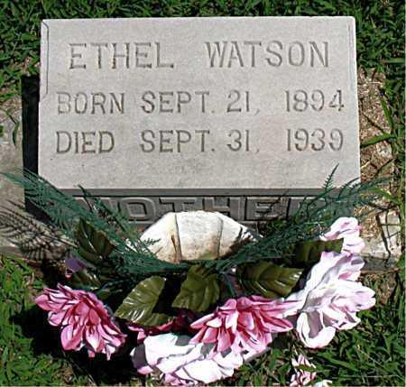 WATSON, ETHEL - Boone County, Arkansas | ETHEL WATSON - Arkansas Gravestone Photos