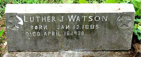 WATSON, LUTHER J - Boone County, Arkansas | LUTHER J WATSON - Arkansas Gravestone Photos