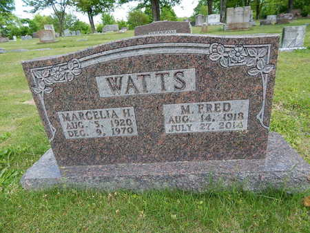 WATTS, MARCELIA H. - Boone County, Arkansas   MARCELIA H. WATTS - Arkansas Gravestone Photos