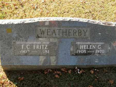 WEATHERBY, F.C. - Boone County, Arkansas   F.C. WEATHERBY - Arkansas Gravestone Photos
