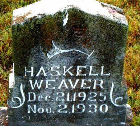 WEAVER, HASKELL - Boone County, Arkansas | HASKELL WEAVER - Arkansas Gravestone Photos