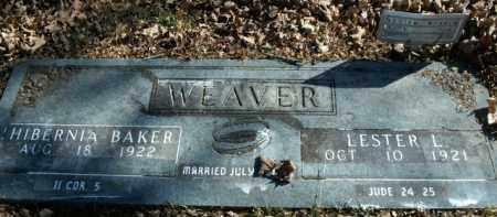 WEAVER, LESTER L. - Boone County, Arkansas | LESTER L. WEAVER - Arkansas Gravestone Photos