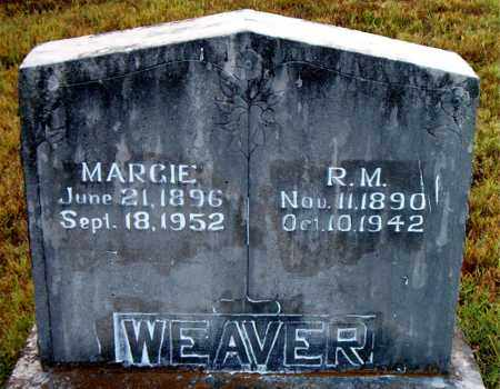 WEAVER, MARGIE - Boone County, Arkansas | MARGIE WEAVER - Arkansas Gravestone Photos