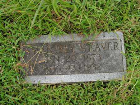WEAVER, SAMANTHA - Boone County, Arkansas | SAMANTHA WEAVER - Arkansas Gravestone Photos