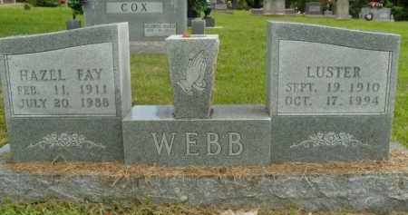 COX WEBB, HAZEL FAY - Boone County, Arkansas | HAZEL FAY COX WEBB - Arkansas Gravestone Photos