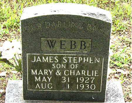 WEBB, JAMES STEPHEN - Boone County, Arkansas | JAMES STEPHEN WEBB - Arkansas Gravestone Photos